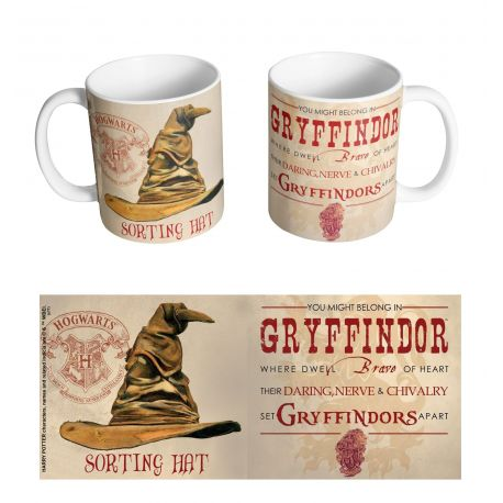 Mug Harry Potter - Sorting Hat Gryffindor - MOVIESTORE