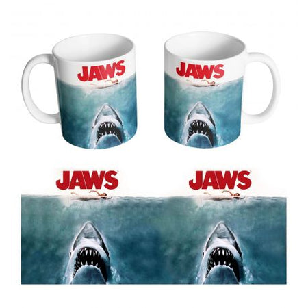 Mug Les dents de la mer - JAWS Poster - MOVIESTORE