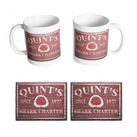 Mug Les dents de la mer - Quint's Shark Charter - MOVIESTORE