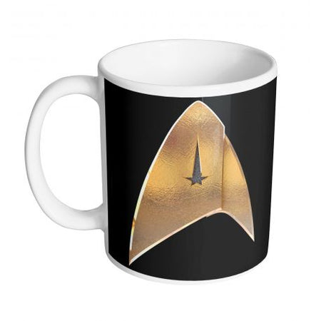 Mug Star Trek Discovery - Logo Gold - MOVIESTORE