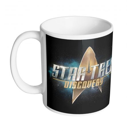 Mug Star Trek Discovery - Logo Text - MOVIESTORE