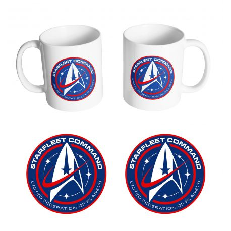 Mug Star Trek - Starfleet Command - MOVIESTORE