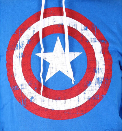 Sweat Captain America Marvel Femme - Cap Shield - MOVIESTORE