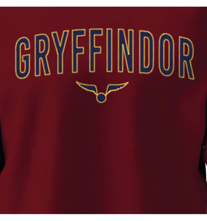 Sweat-shirt Harry Potter - Gryffindor Golden Snitch - MOVIESTORE