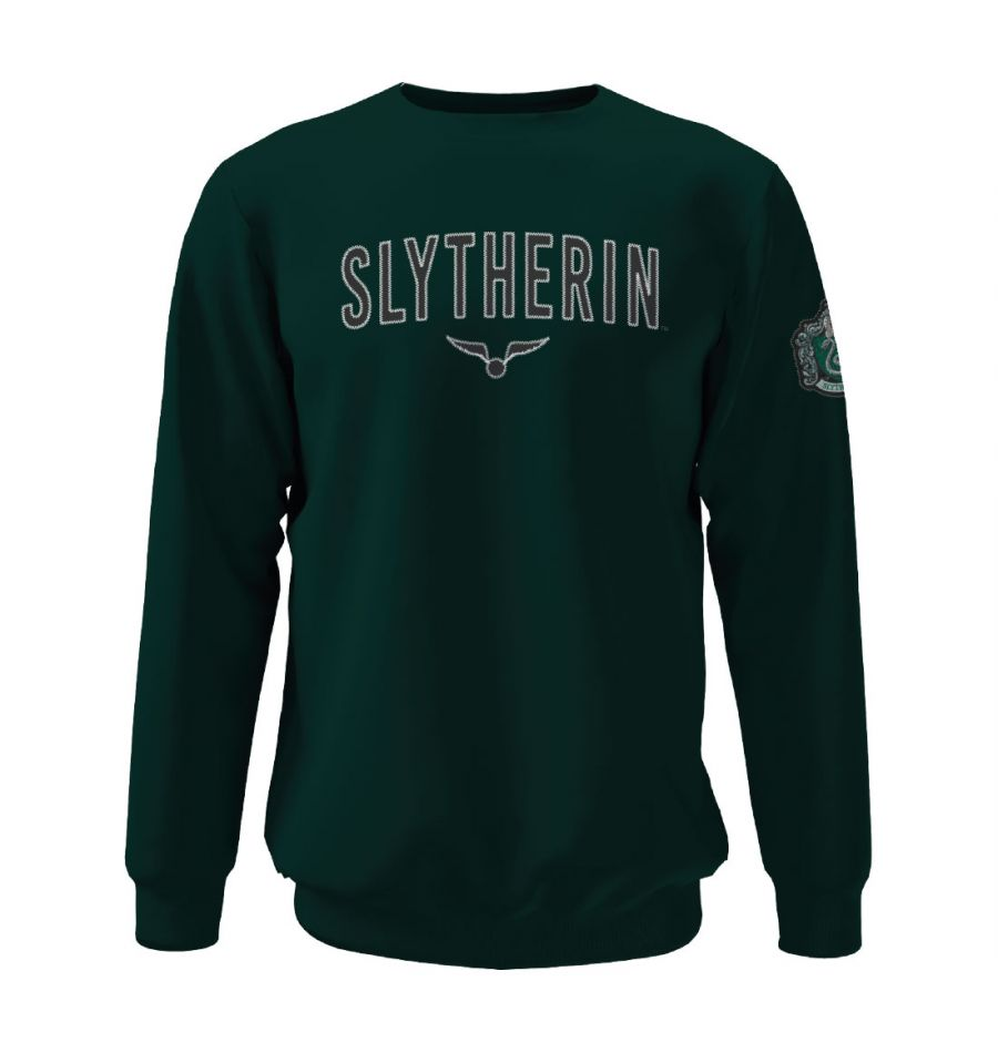 Sweat-shirt Harry Potter - Slytherin Golden Snitch - MOVIESTORE