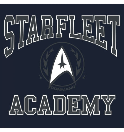 Sweat-shirt Star Trek - Navy Starfleet Academy - MOVIESTORE