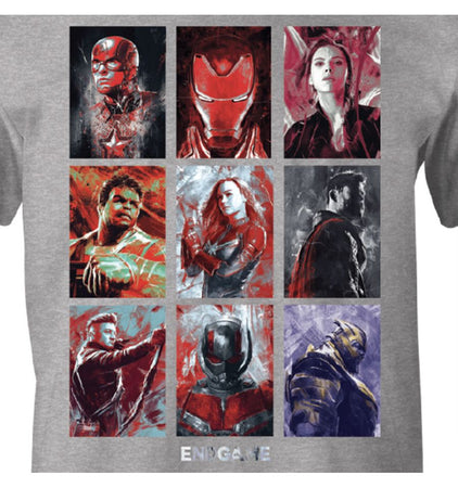 T-shirt Avengers Endgame Marvel - Avengers Group Emotion - MOVIESTORE