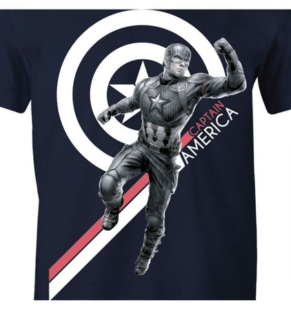 T-shirt Avengers Endgame Marvel - Captain America - MOVIESTORE