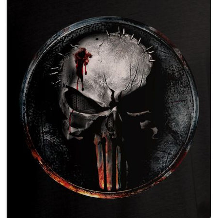T-shirt Daredevil Marvel - Blood Punisher Logo - MOVIESTORE