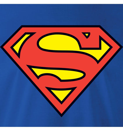 T-shirt Enfant Superman DC Comics - Logo Classic - MOVIESTORE