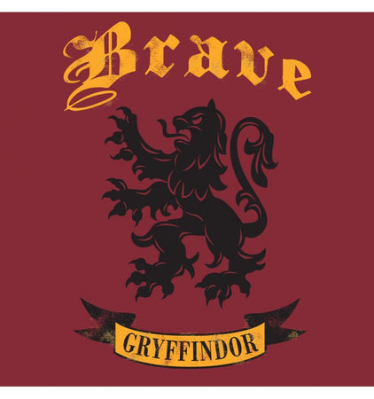 T-shirt Femme Harry Potter - Brave Gryffindor - MOVIESTORE