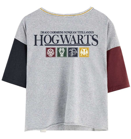 T-shirt Femme Harry Potter - Hogwarts Icons - MOVIESTORE