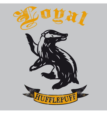 T-shirt Femme Harry Potter - Loyal Hufflepuff - MOVIESTORE