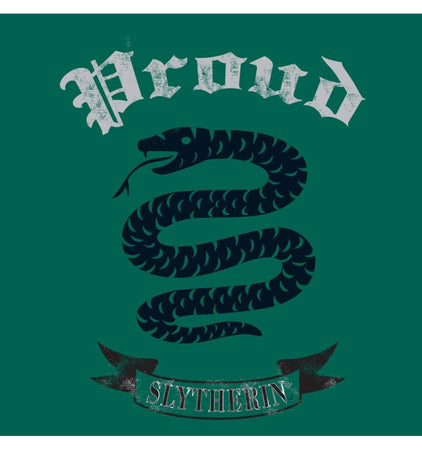 T-shirt Femme Harry Potter - Proud Slytherin - MOVIESTORE