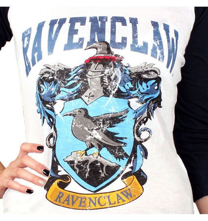 T-shirt Femme Harry Potter - Ravenclaw Old School - MOVIESTORE