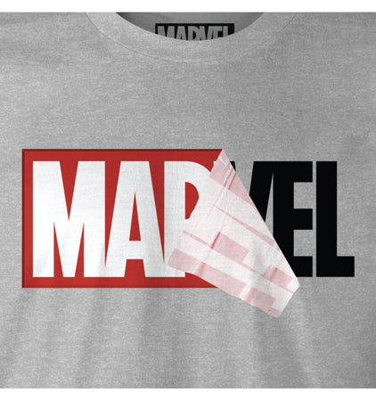 T-shirt Marvel - Logo Mania - MOVIESTORE