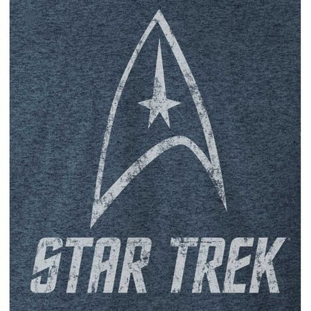 T-shirt Star Trek - Vintage Logo - MOVIESTORE