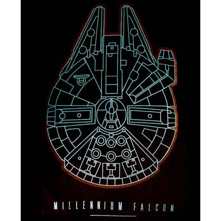 Tshirt Star Wars VII - Millennium Falcon - MOVIESTORE