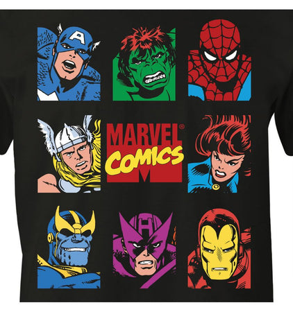 T-shirt The Avengers Marvel - Marvel Group - MOVIESTORE