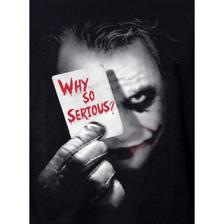 Tshirt Batman DC Comics - Why so serious ? - MOVIESTORE