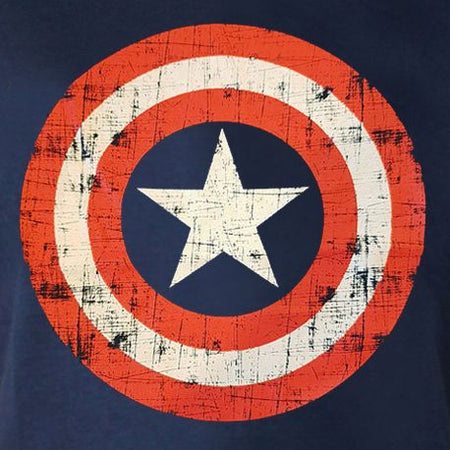Tshirt Captain America Marvel - Bouclier - MOVIESTORE
