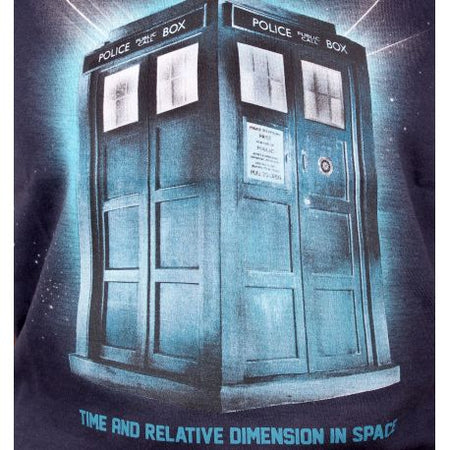Tshirt Doctor Who Femme - Tardis In Space - MOVIESTORE