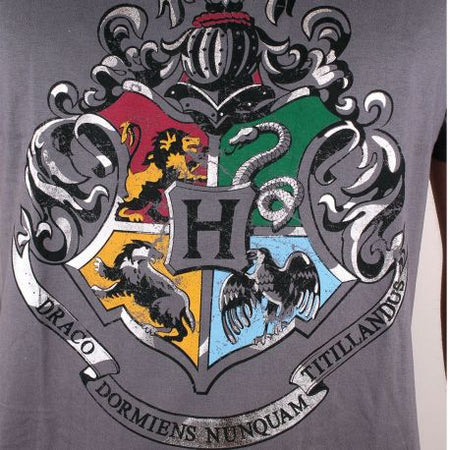 Tshirt Harry Potter - 4 School Silver