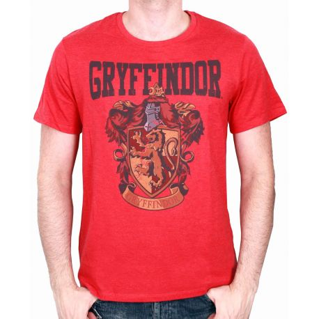 Tshirt  Harry Potter - Gryffindor School - MOVIESTORE
