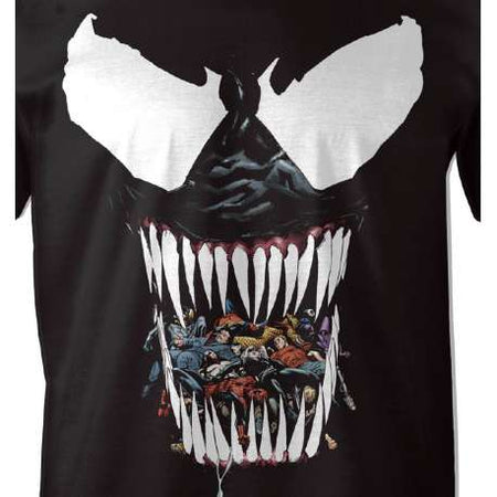Tshirt  Marvel Venom - Black Venom - MOVIESTORE