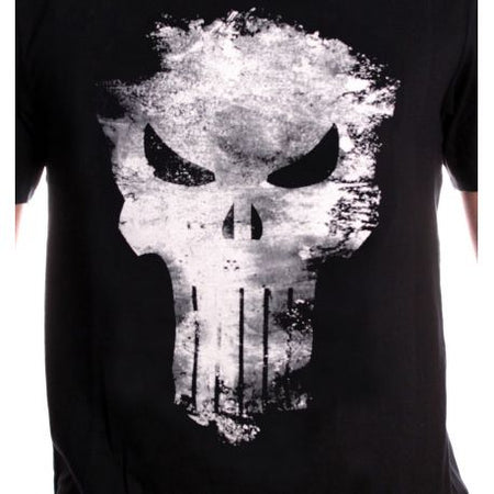 Tshirt Punisher Marvel - The Punisher Distress Skull