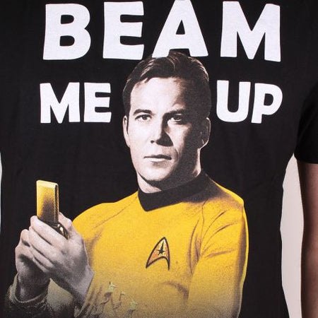 Tshirt Star Trek - Beam me up Scotty