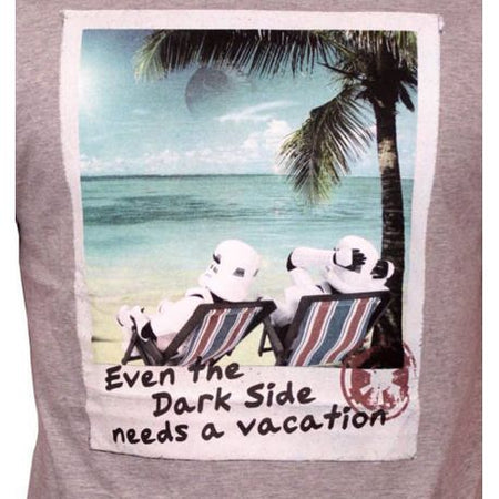 Tshirt Star Wars - Needs Vacation