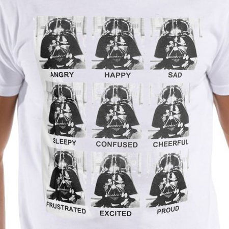 Tshirt Star Wars - Vador emotions - MOVIESTORE