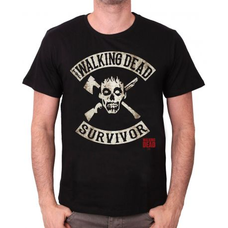 Tshirt The Walking Dead - Survivor