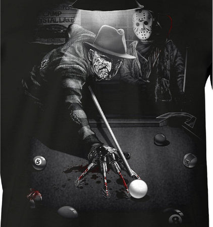 Tshirt Vendredi 13 Jason - Freddy & Jason Billard