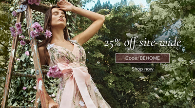 25% off site-wide with code BEHOME