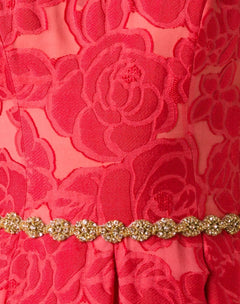 Load image into Gallery viewer, brocade a-line gown