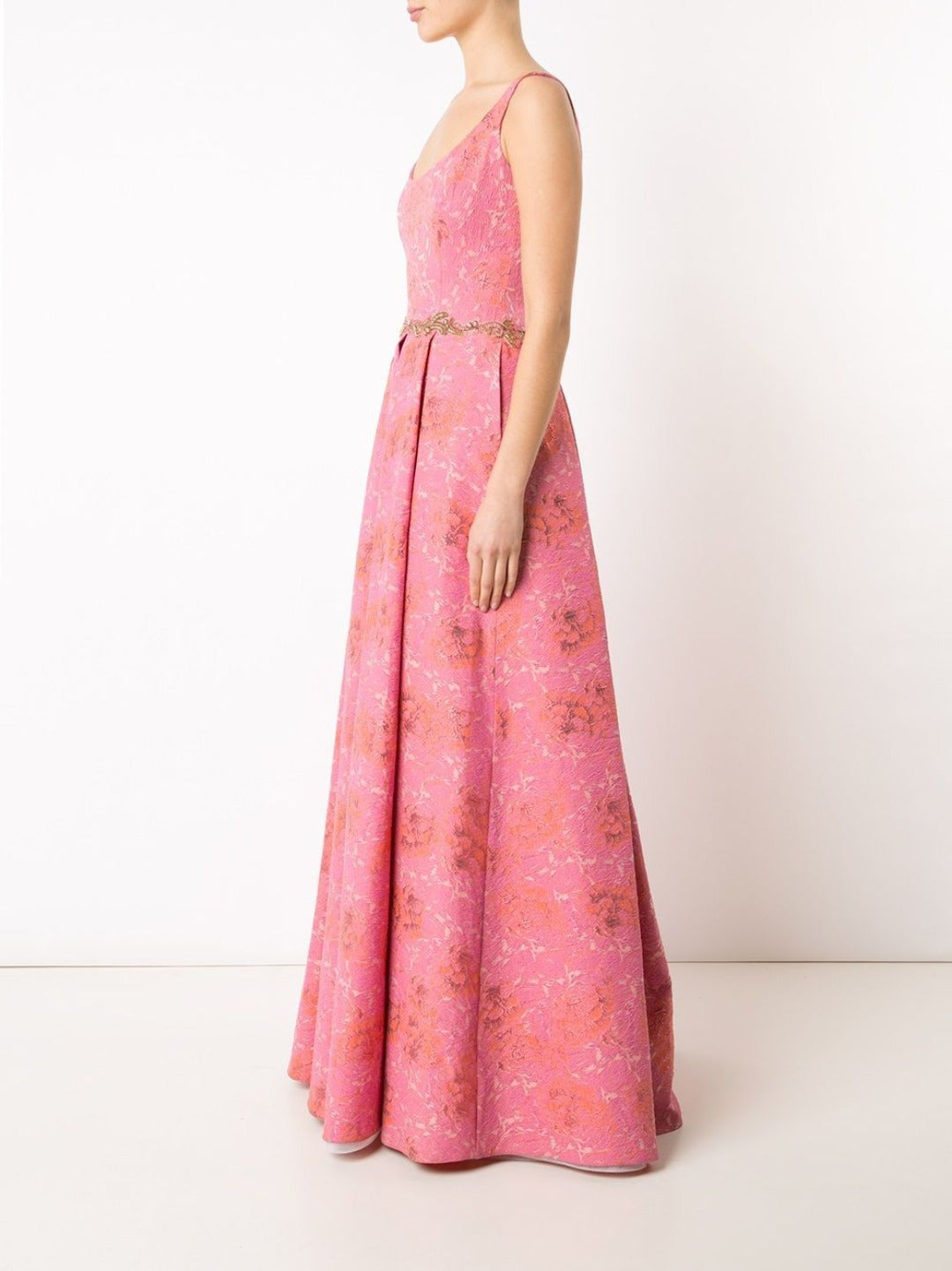 Brocade Tank Gown
