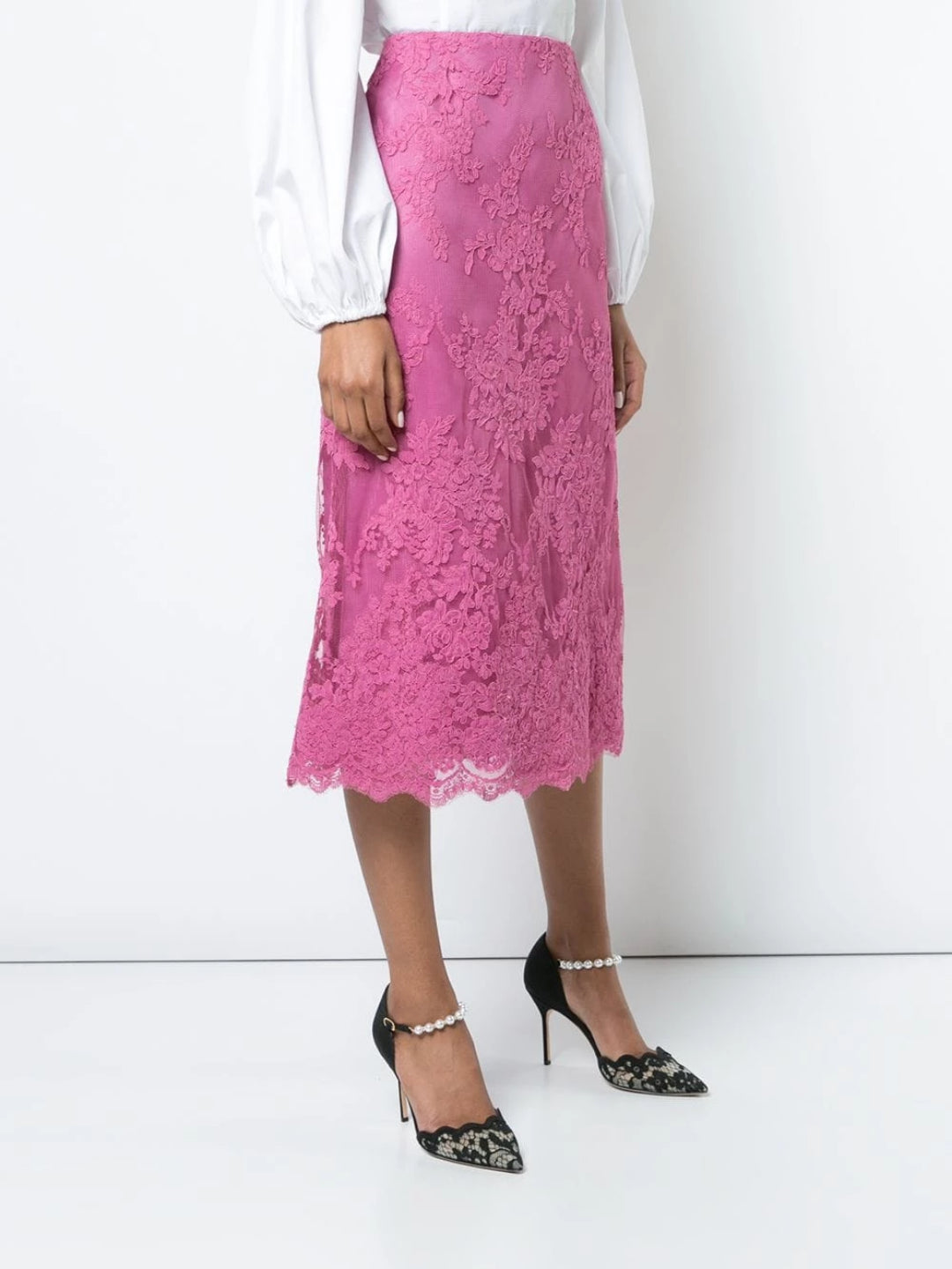 Corded Lace Skirt