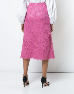 Load image into Gallery viewer, Corded Lace Skirt