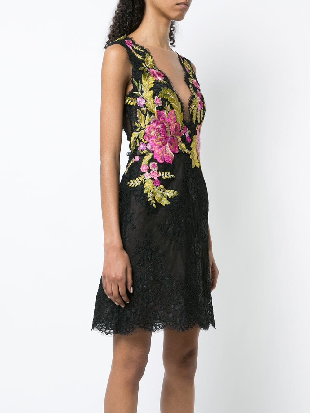 Corded Lace Cocktail Dress