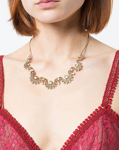 Load image into Gallery viewer, Pearl Embellished Necklace