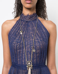 Load image into Gallery viewer, Moment In The Sun Tassel Necklace