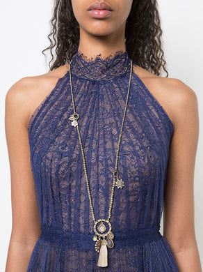 Moment In The Sun Tassel Necklace