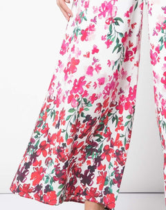 Load image into Gallery viewer, Crepe De Chine Palazzo Pants