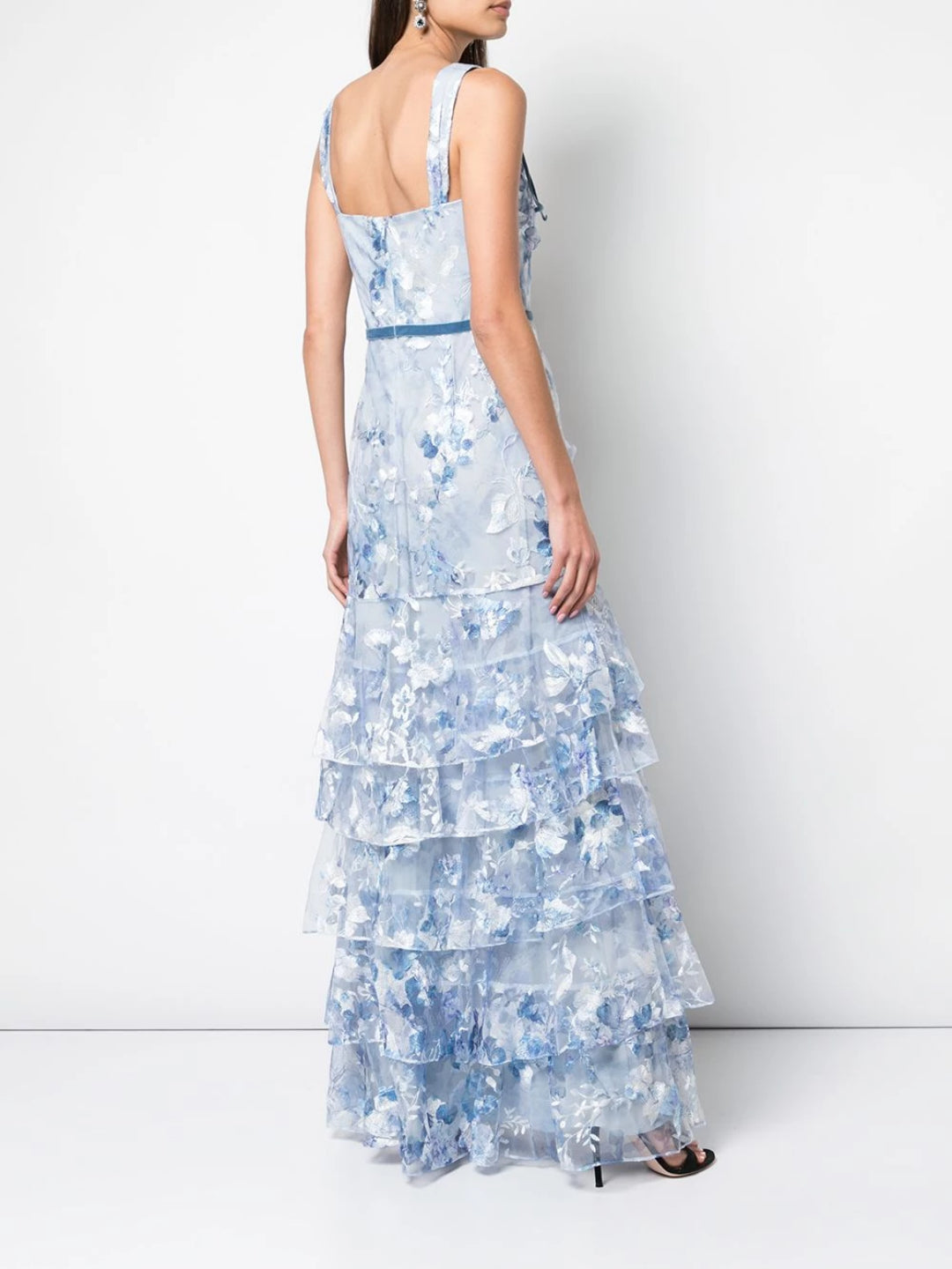 Tulle Tiered Gown