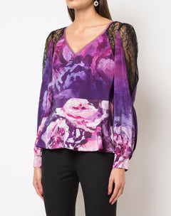 Load image into Gallery viewer, Printed Floral Top