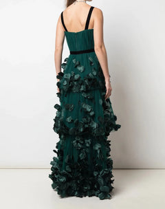 Load image into Gallery viewer, Sleeveless 3-tiered gown