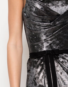 Load image into Gallery viewer, Metallic Lame Gown