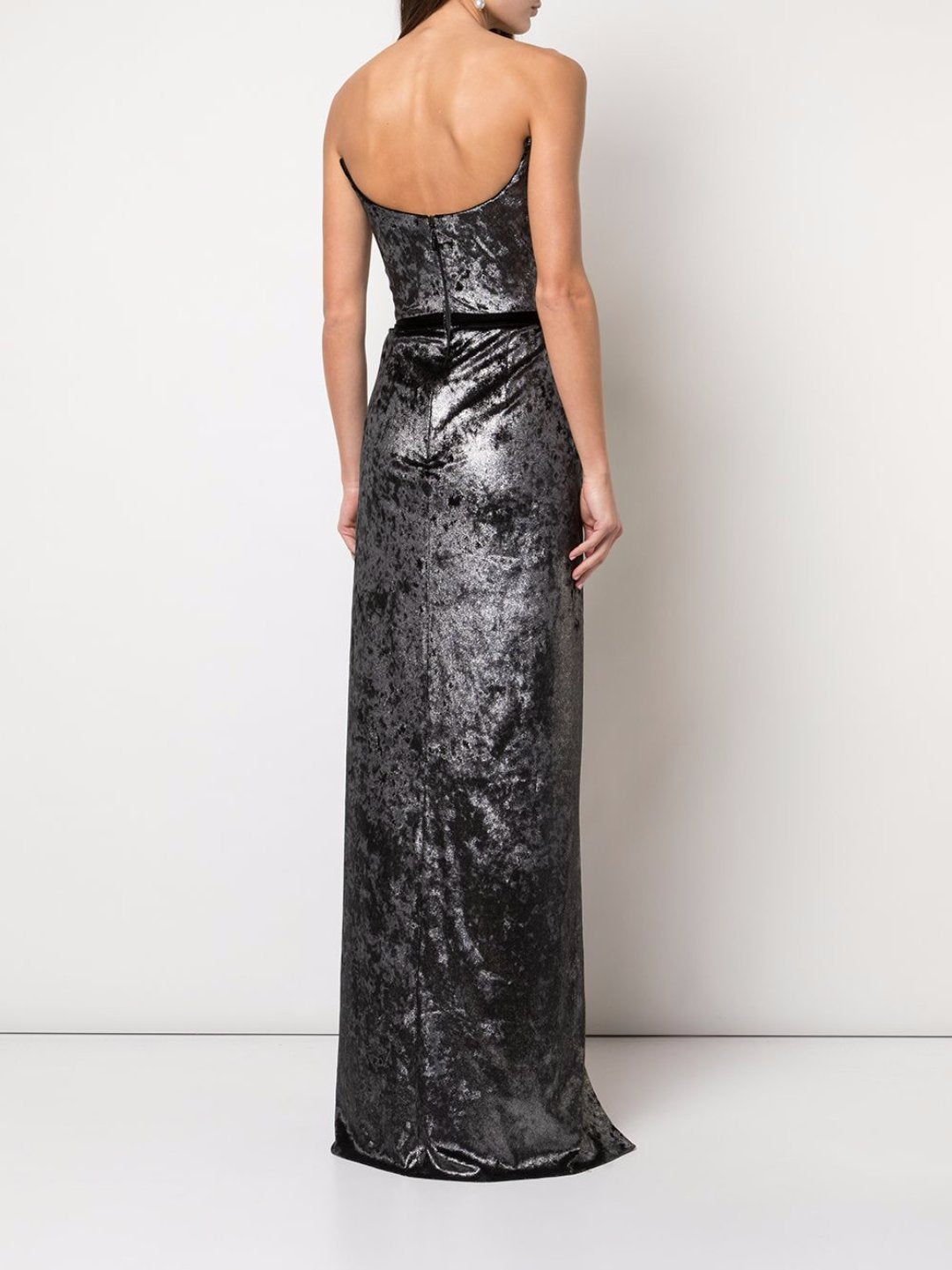 Metallic Lame Gown